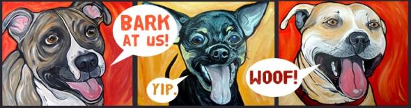 Bark at us!