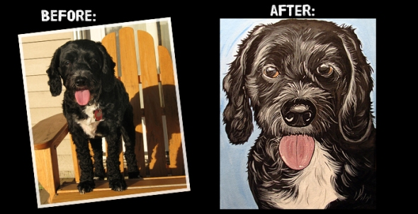 Cockapoo Painting